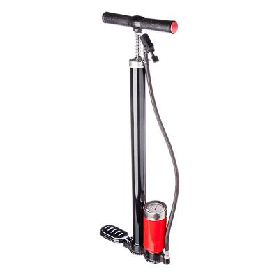NEW GALAXY Насос ручной, с педалью, манометр, 32*500мм, черный, Хенд