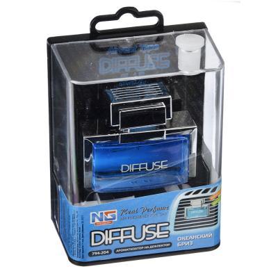 NEW GALAXY Ароматизатор на дефлектор Diffuse, 12,5мл, океанский бриз