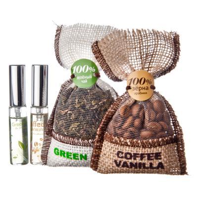 NEW GALAXY Ароматизатор пакетик с кофе, кофе и ваниль