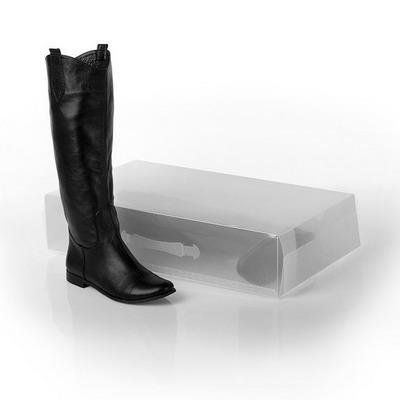 Пластиковая коробка 18 литров для длинных сапог