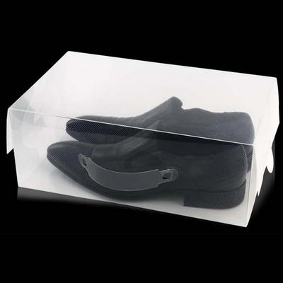 Пластиковая коробка 9 литров для мужской обуви