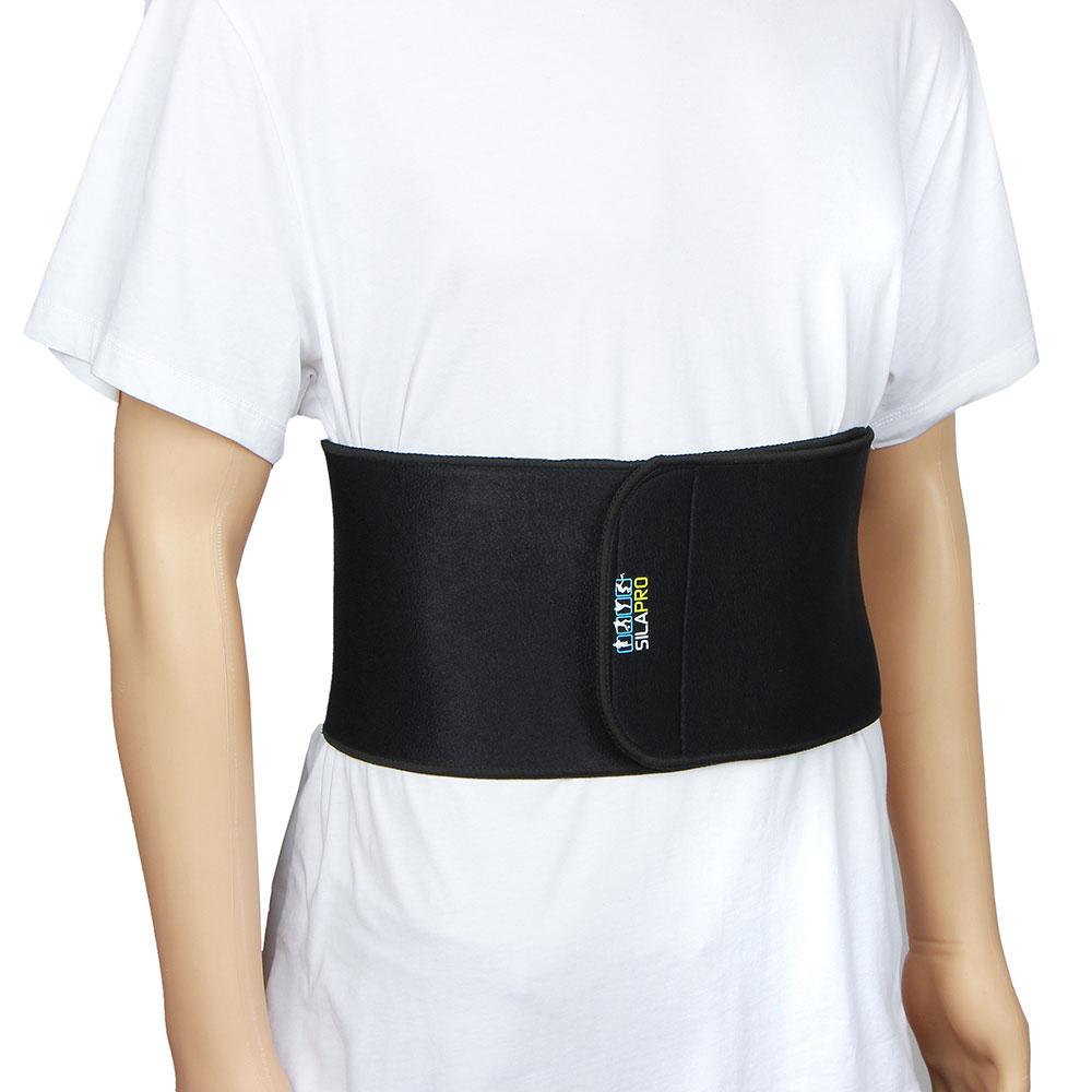 SILAPRO Пояс для похудения на липучке, неопрен, полиэстер, 106х16см