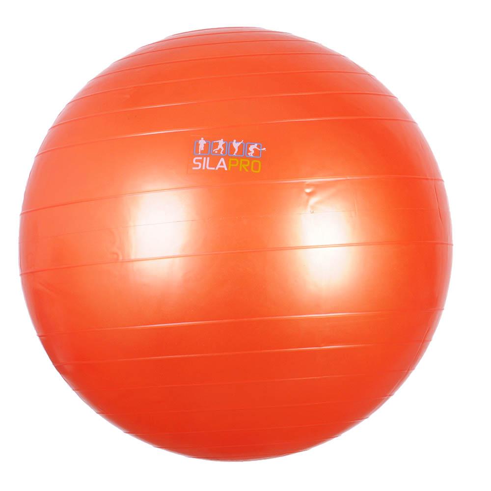 SILAPRO Мяч для фитнеса гимнастический, ПВХ, 65см, 800гр, 6 цветов, в коробке