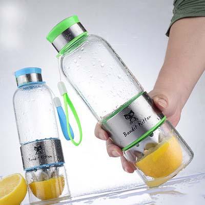 Лимонная бутылка
