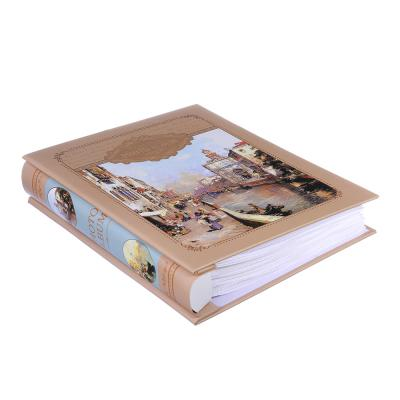 Фотоальбом на 100 фото 10х15см, 26,5х21х5,5см, бумага, пластик, 2 дизайна, в коробке