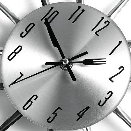 Настенные часы KW3981 столовые приборы
