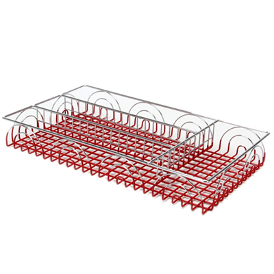 Лоток для столовых приборов, металл, 36х20х4,5см
