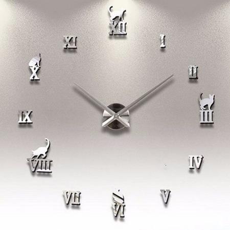 Настенные часы  T4220 кошка