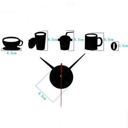 Настенные часы  T4003B кофе