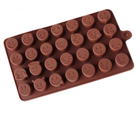 Формочки для шоколада: смайлики