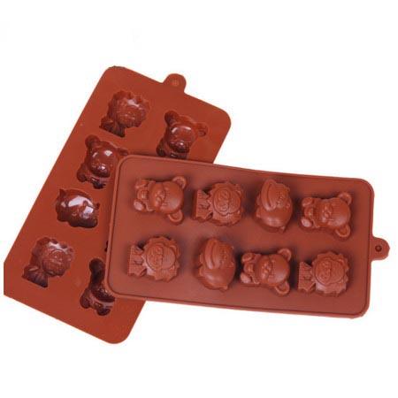 Формочки для шоколада: львята