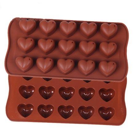 Формочки для шоколада: сердце