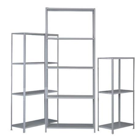 Стеллаж (2500х1000х400) 120 кг 5 полок металл Лайт -2545