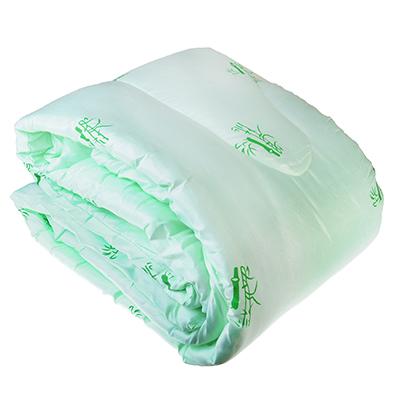 Одеяло Бамбук стеганое, облегченное 150гр/м, полиэстер, 140х205см