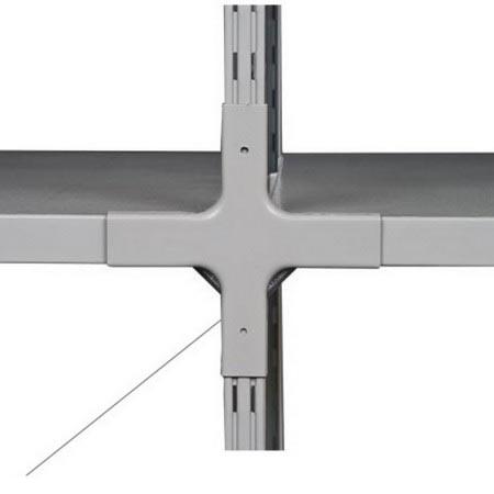 Стеллаж (2000х1060х300) 150 кг 4 полки металл ТСУ 1