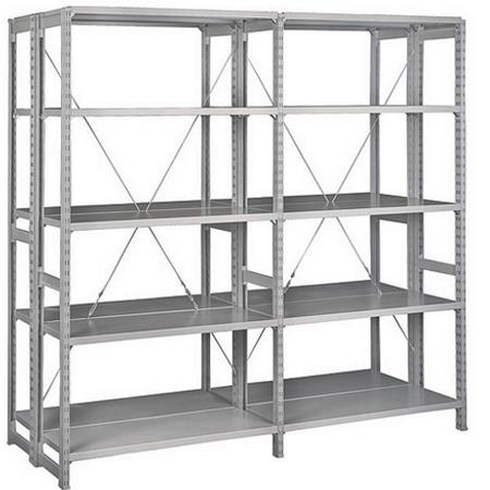 Стеллаж (2500х1060х400) 150 кг 5 полок металл ТСУ 2.2.5