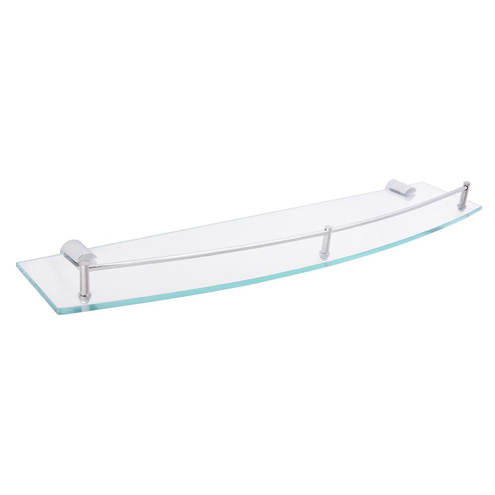SonWelle Полка для ванной комнаты, 51,3х13 см HS-1001 стекло