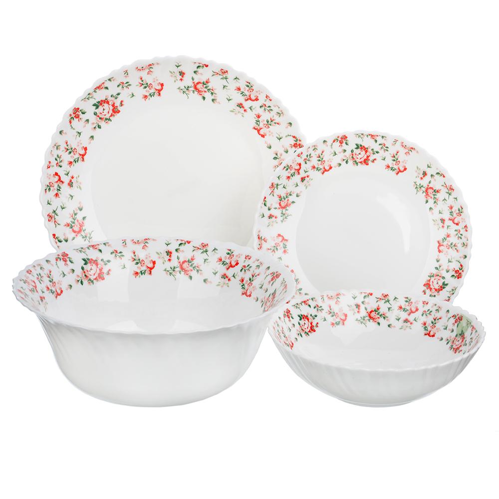 MILLIMI Майя Набор столовой посуды 13 пр., опаловое стекло, 17217