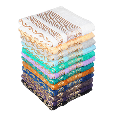 Полотенце махровое, 100% хлопок, 50х90см, 480гр/м, Альто, 12 цветов ПГ-38083