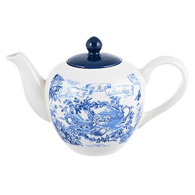 MILLIMI Гравюра Чайник заварочный, 1200мл, керамика