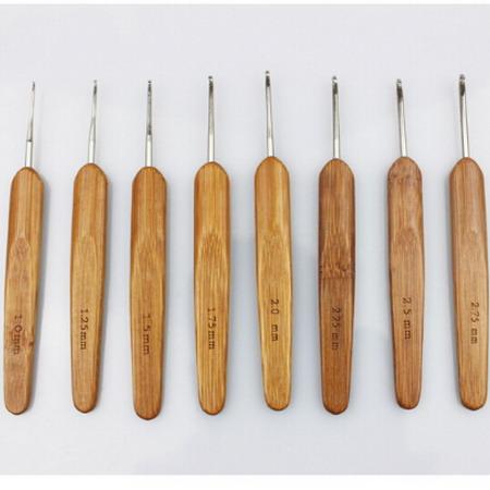 Комплект крючков для вязания 20 шт