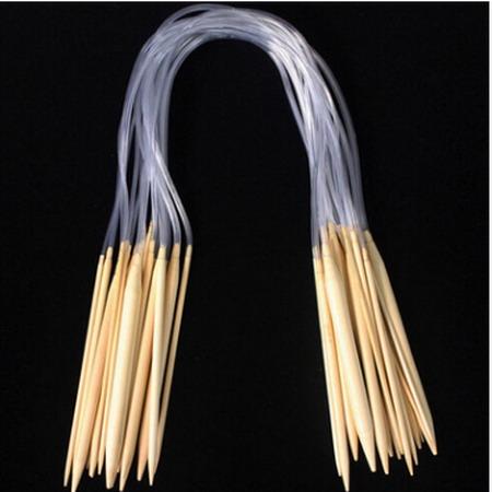 Спицы для вязания бамбуковые 40 см