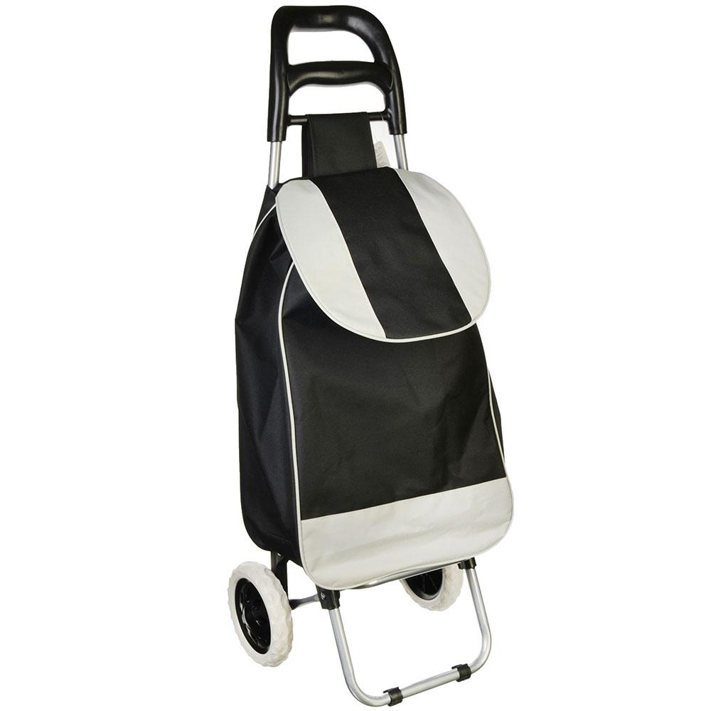 Тележка + сумка, грузоподъемность до 30кг, брезент, ЭВА, 36х26х94см, колесо d16см, WQ-108