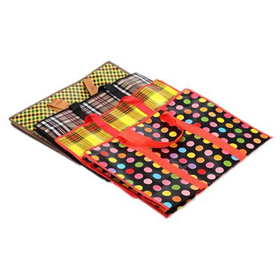 Сумка хозяйственная, полипропилен, нетканый материал,50x35x20см,4 дизайна, арт102