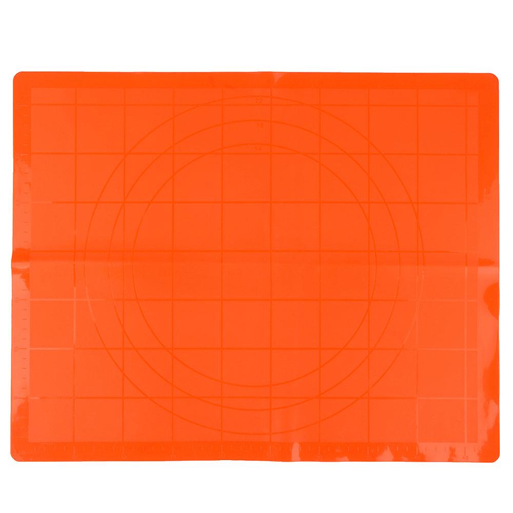 Коврик силиконовый для раскатки теста, 50х40см, 3 цвета