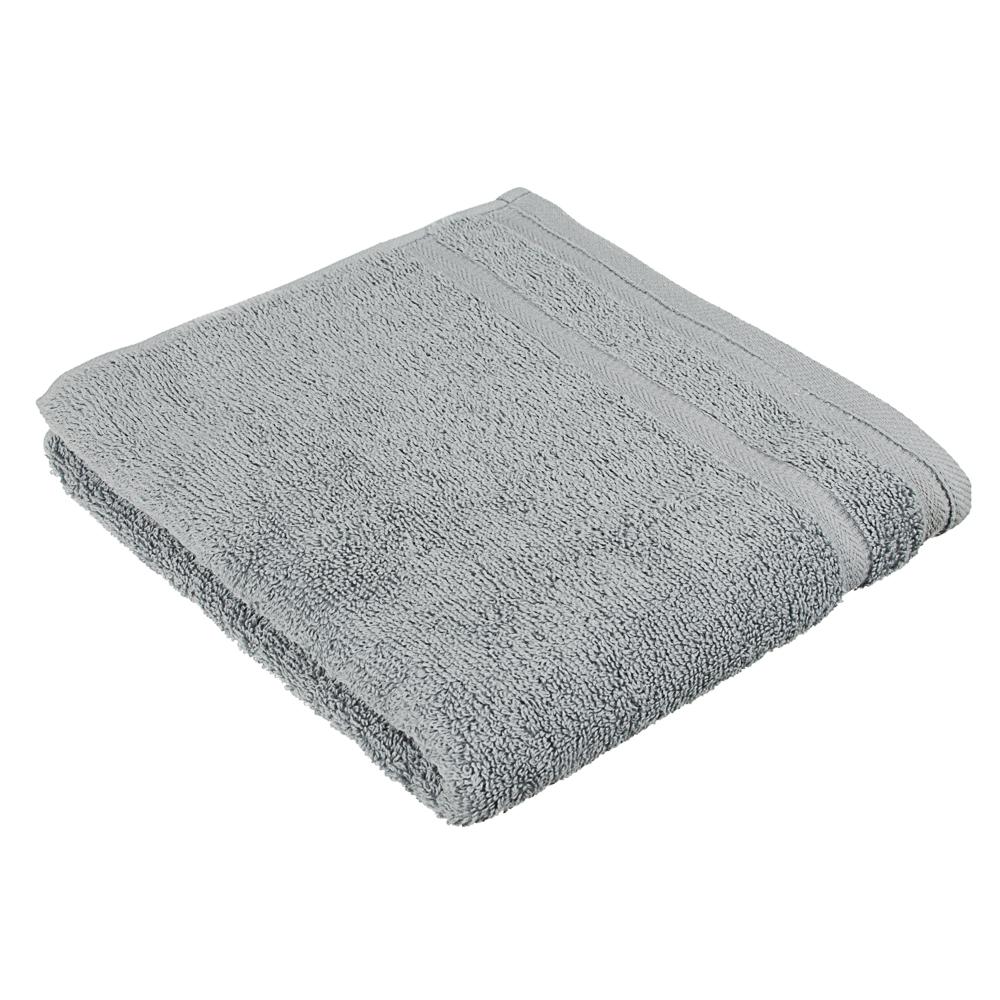 PROVANCE Полотенце махровое, 100% хлопок, 50х90см, 450гр/м, Виана светло-серый