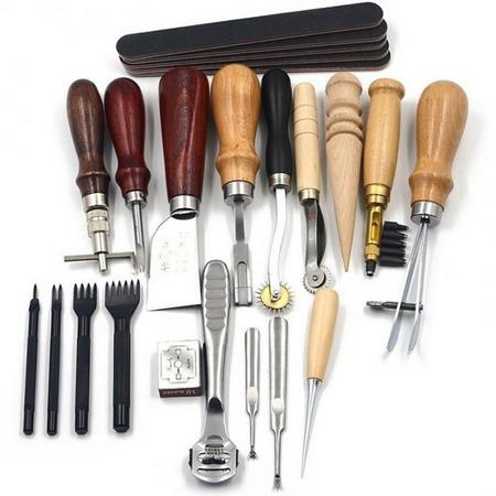 Инструменты для кожи набор