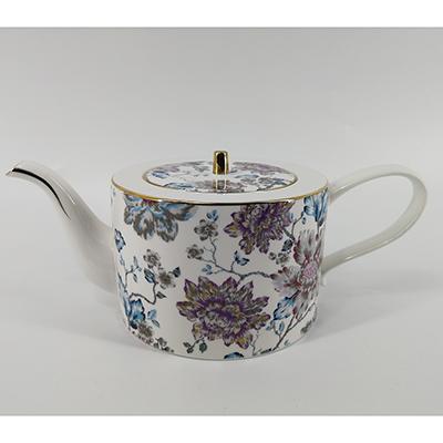 MILLIMI Вивальди Чайник заварочный,1150мл, костяной фарфор